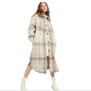 New ASOS design long wool blend coat